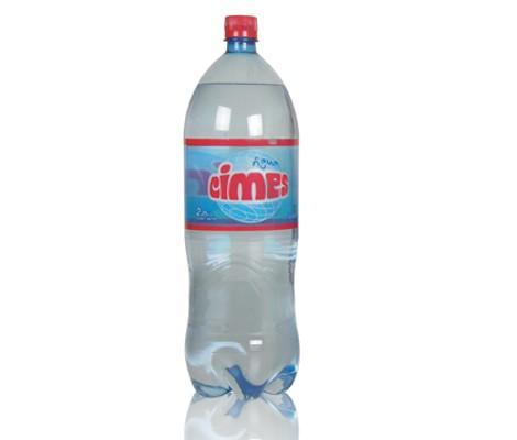 Agua con gas cimes aiello isidro casanova botella descartable mineral soda fabrica envasadora zona oeste